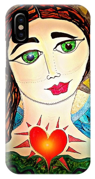 Folk Athena IPhone Case