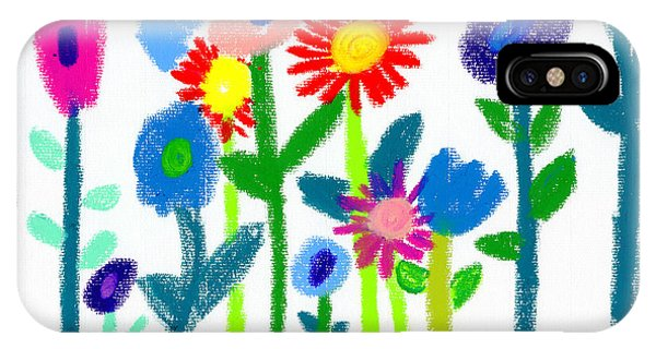 Folk Garden IPhone Case