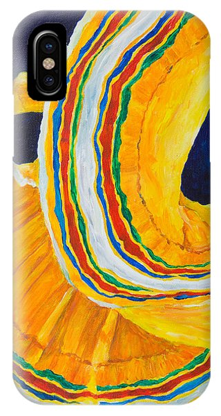 Folklorica In Yellow IPhone Case
