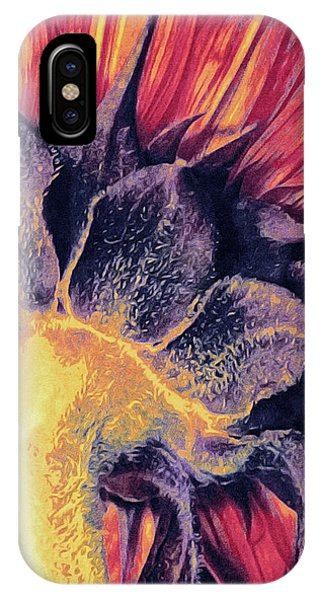 Close Up Floral iPhone Case - Follow The Sun by Susan Maxwell Schmidt