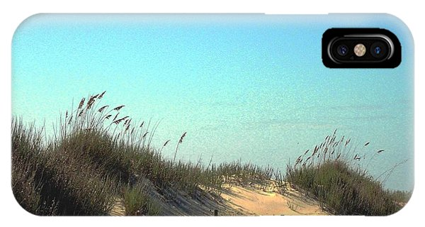 Folly Beach Sc Dunes IPhone Case