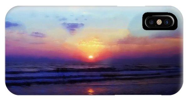 Folly Beach South Carolina Sunrise IPhone Case