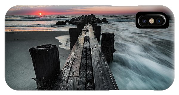 Folly Beach Tale Of Two Sides IPhone Case