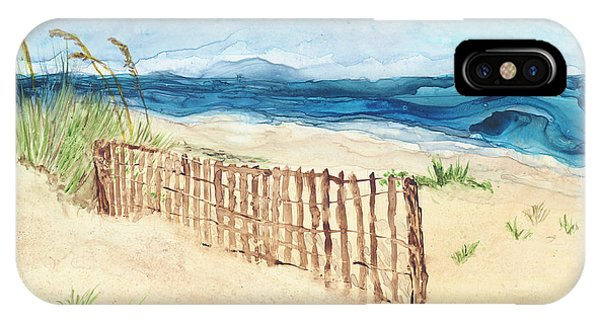 Folly Field Fence IPhone Case