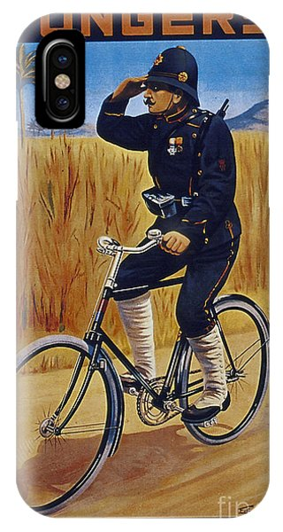 Fongers In Gebruik Bil Nederlandsche En Nederlndsch Indische Leger Vintage Cycle Poster IPhone Case