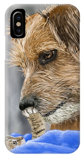 Donation iPhone Case - Friends Of Norfolk Animal Care Center  by Myke  Irving