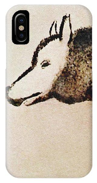 Font De Gaume Wolf IPhone Case