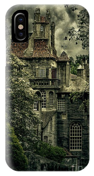 Fonthill With Storm Clouds IPhone Case