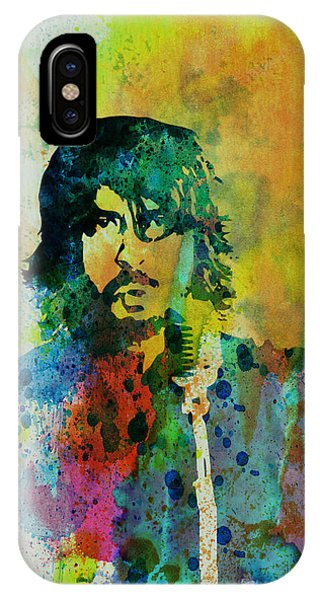 Dave iPhone Case - Foo Fighters by Naxart Studio