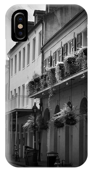 Food In New Orleans In Black And White IPhone Case