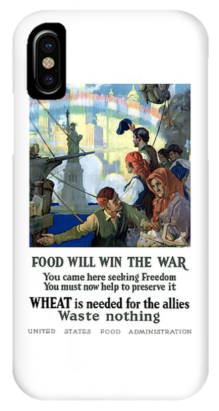 Food Will Win The War IPhone Case