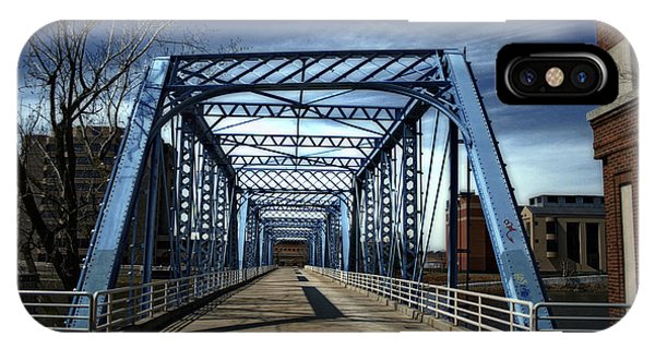 Foot Bridge Over The Grand River IPhone Case