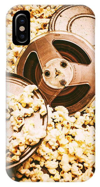 Movie iPhone Case - Footage From An Antique Motion Picture by Jorgo Photography - Wall Art Gallery