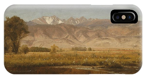 Foothills Colorado IPhone Case