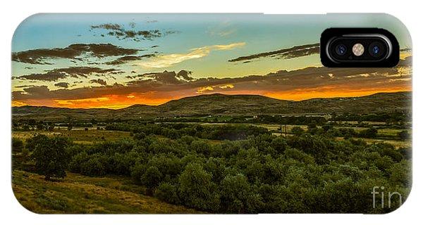 Foothills Sunrise IPhone Case
