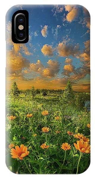 For A Moment All The World Was Right IPhone Case