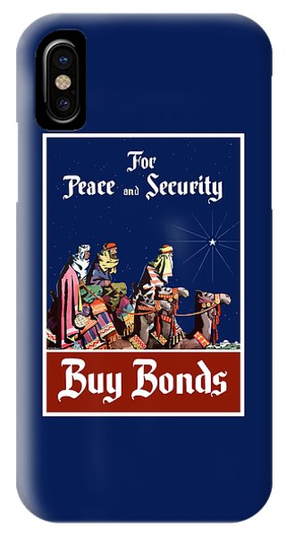 Camel iPhone Case - For Peace And Security - Buy Bonds by War Is Hell Store