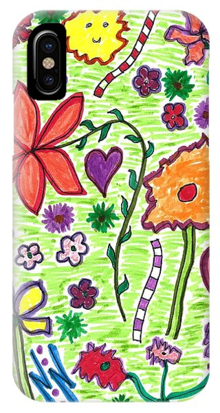 For The Love Of Flowers IPhone Case