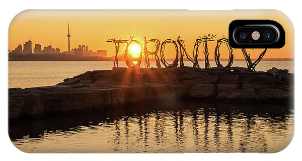For The Love Of Toronto IPhone Case