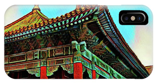 Forbidden City - Beijing China IPhone Case