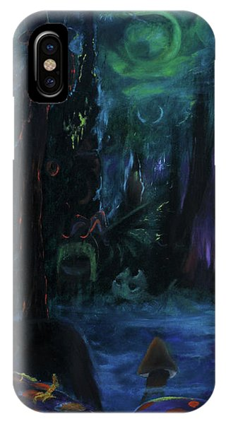 Forbidden Forest IPhone Case