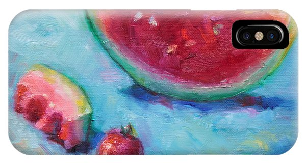Representation iPhone Case - Forbidden Fruit by Talya Johnson