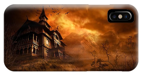 Illusion iPhone Case - Forbidden Mansion by Svetlana Sewell