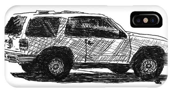 Ford Explorer IPhone Case