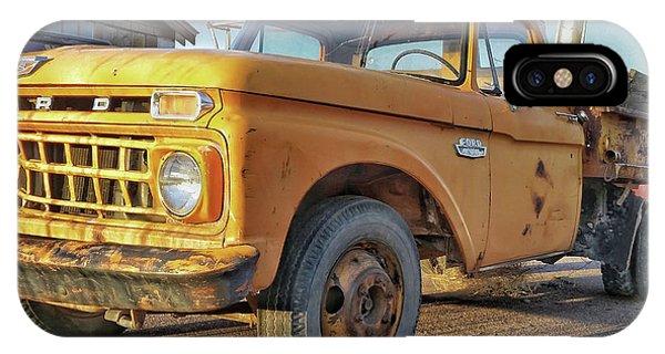 Ford F-150 Dump Truck IPhone Case