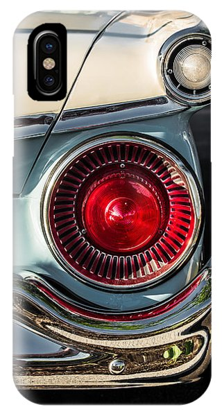 Mt. Prospect iPhone Case - Ford Fairlane 500 by Lauri Novak