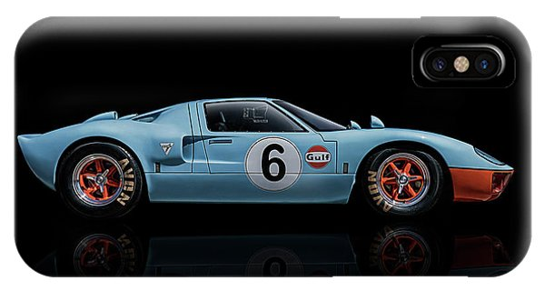 Mancave iPhone Case - Ford Gt 40 by Douglas Pittman