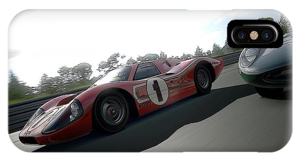 Ford Gt40 Mark Iv IPhone Case