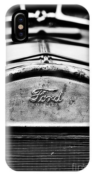 Custom Made iPhone Case - Ford Made In Usa  by Tim Gainey