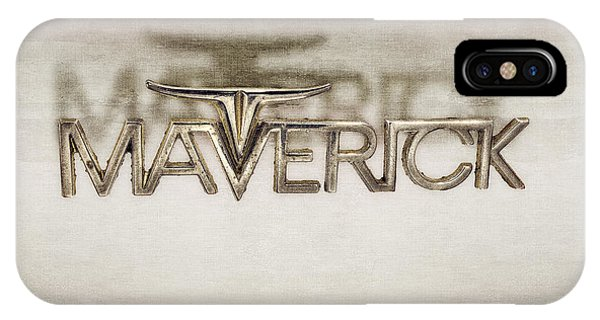 Ford Maverick Badge IPhone Case