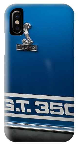 Ford Mustang G.t. 350 Cobra IPhone Case