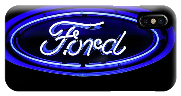 Ford Neon Sign IPhone Case