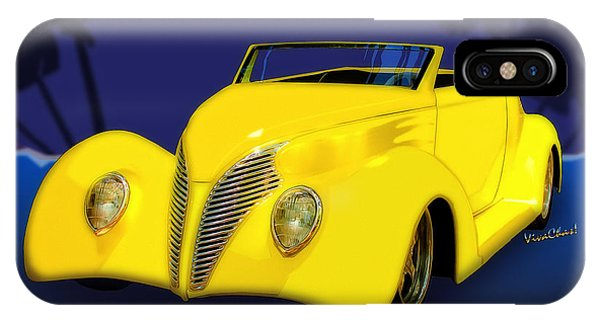 Ford Roadster 1937 In The Palms IPhone Case