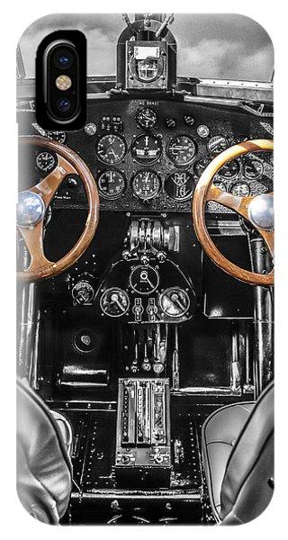 Ford Trimotor Cockpit IPhone Case