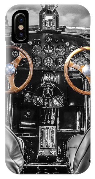 Ford Trimotor Cockpit IPhone Case