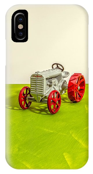 Farm Tool iPhone Case - Fordson Tractor Profile by Yo Pedro