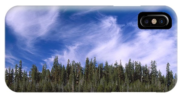 Forest And Sky - Big Dry Meadow IPhone Case