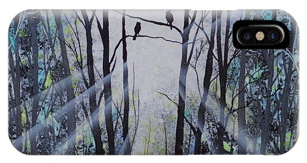 Forest Birds IPhone Case