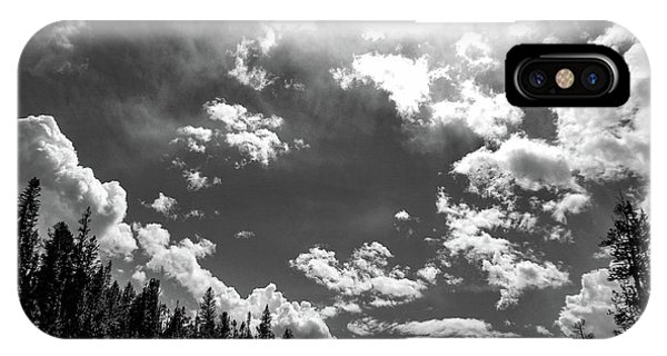 A New Day, Black And White IPhone Case