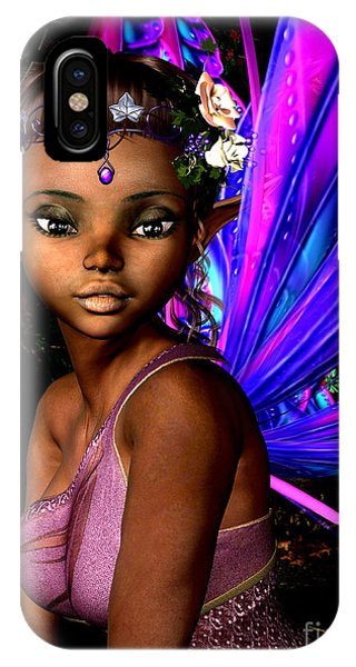 Elf iPhone X Case - Forest Fairy by Alexander Butler