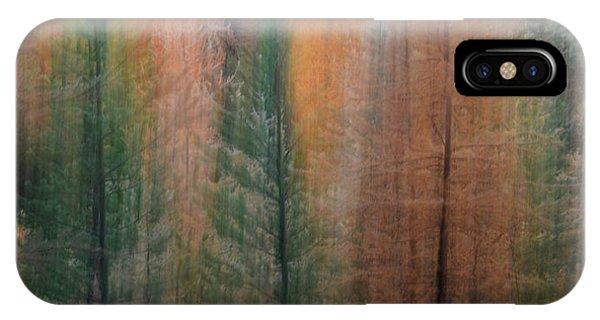 Forest Illusion- Autumn Born IPhone Case