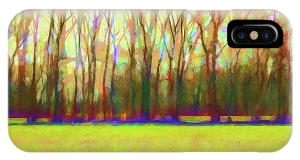 Fall Colors iPhone Case - Forest In Autumn Light by Jon Woodhams