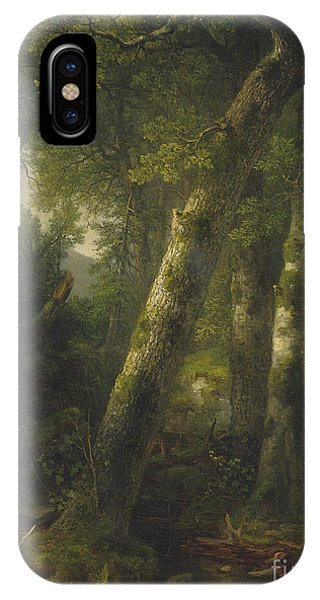 iPhone Case - Forest In The Morning Light by Asher Brown Durand