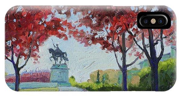 Forest Park Autumn Colors IPhone Case
