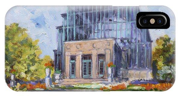 Forest Park - Jewel Box Saint Louis IPhone Case