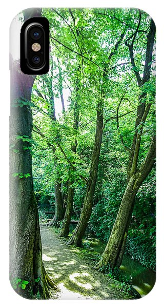 IPhone Case featuring the photograph Forest Path by Bee-Bee Deigner